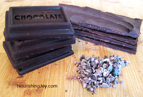 Making your own chocolate bars takes mere minutes!