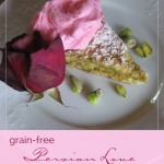 Persian Love Cake: A grain-free, rose-scented Pistachio Honey Cake