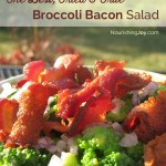 The best Broccoli Bacon Salad