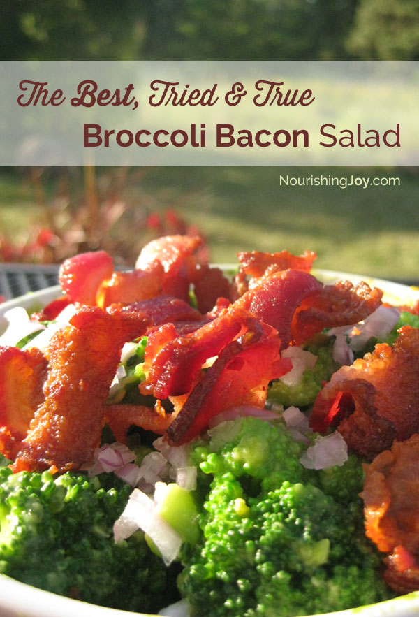 The best Broccoli Bacon Salad