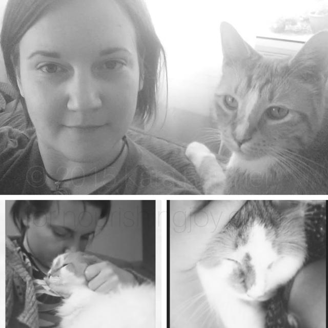 Kara, The GreenMtnGirl & Her Cats | Nourishing Joy