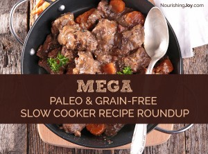 Use your slow cooker and make it easy to stick to the paleo or grain-free diet! With more than 145 recipes, you can't go wrong. :) Pin now to make later!
