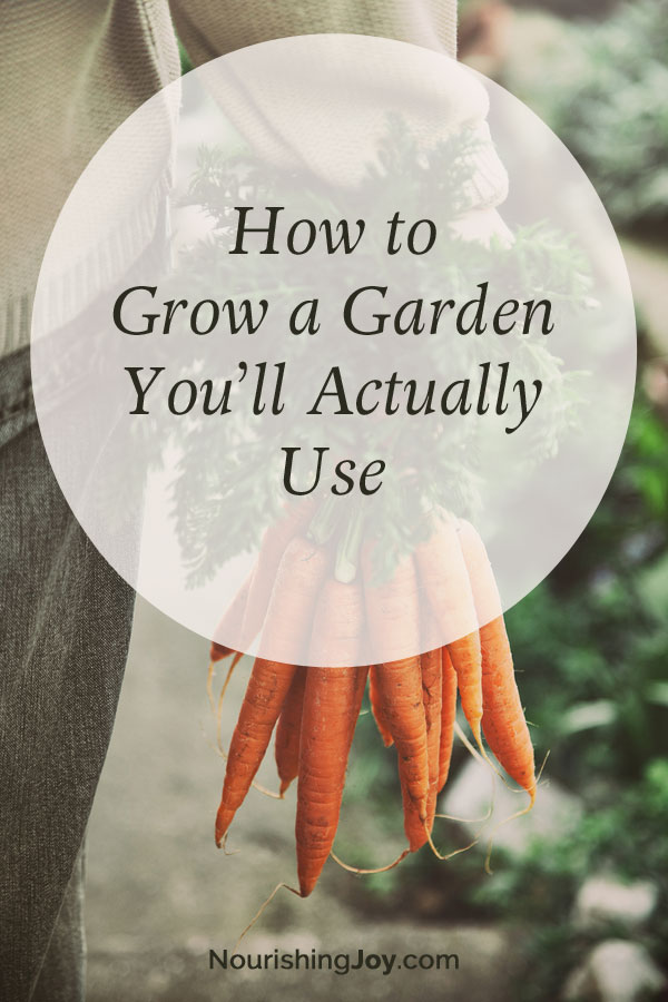 Why not grow a garden you'll actually use? Here are 8 great ideas to get you started.