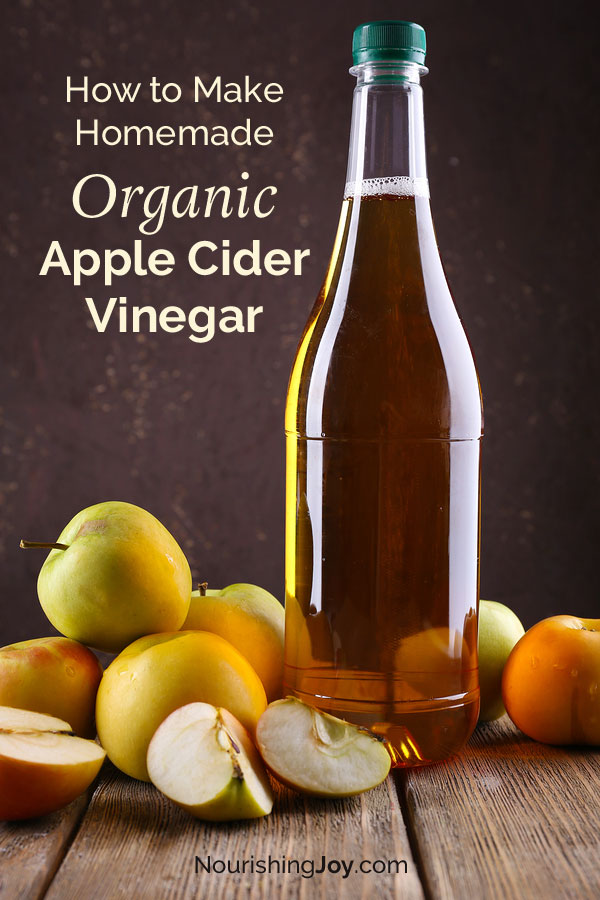 Making homemade apple cider vinegar is SUPER simple - it just takes a few apple cores and a bit of patience. :)