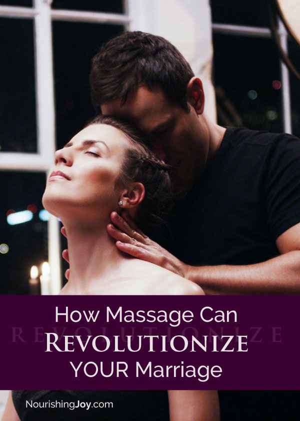 Did you know massage can transform your marriage? Give it try and see what it does for YOU.