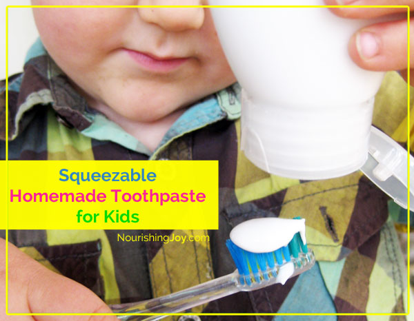 Squeezable Homemade Children's