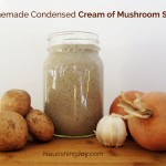 Making your own simple homemade cream of mushroom soup to have on hand for casseroles and cravings will help you avoid food additives and save money.