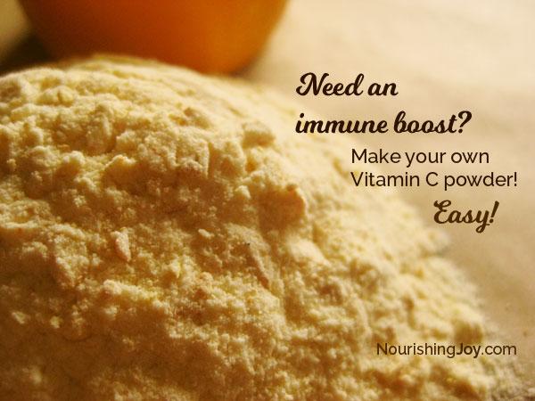 Homemade Vitamin C Powder - Nourishing Joy