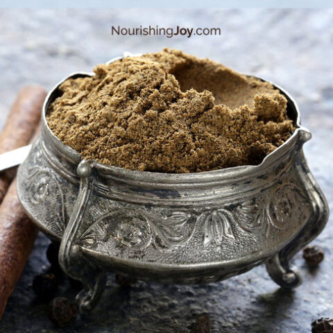 Homemade garam masala makes your curries and stews sing (and you might too)!