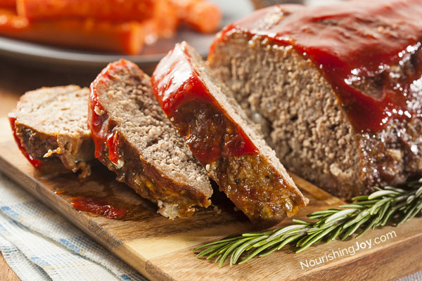 Classic Meatloaf Recipe Nourishing Joy