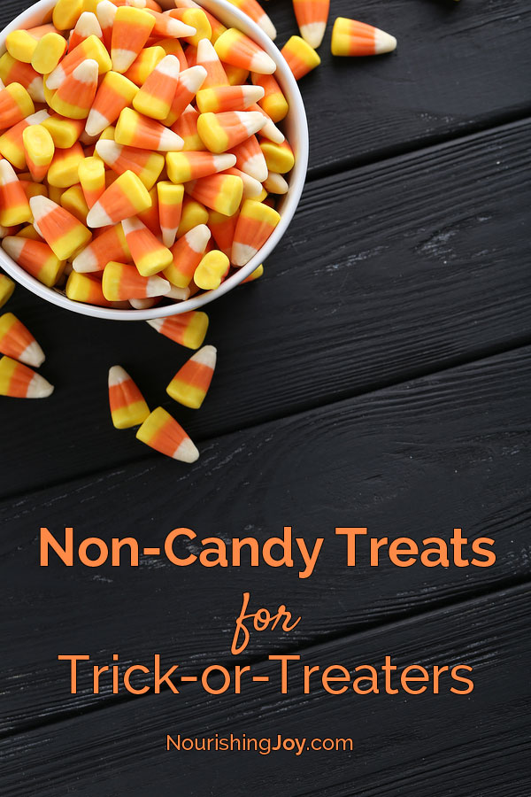 who says candy is the only treat we can give out on halloween here are