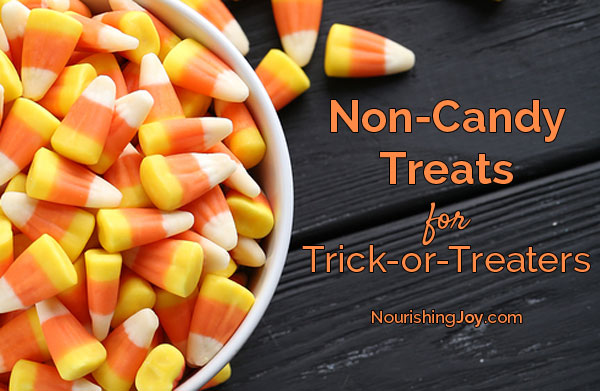 Non-Candy Treats for Trick or Treaters