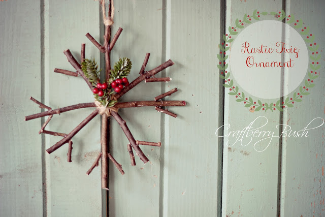 This beautiful DIY ornament from Yellow Bliss Road and Craftberry Bush is just one of many ideas for frugal, classy DIY Christmas decor at NourishingJoy.com