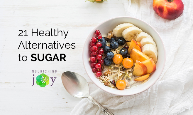 Sugar is delicious, but it's at the root of many of our most disastrous health issues. Use these healthy sugar alternatives to take control of how much sugar you (and your family) eat!