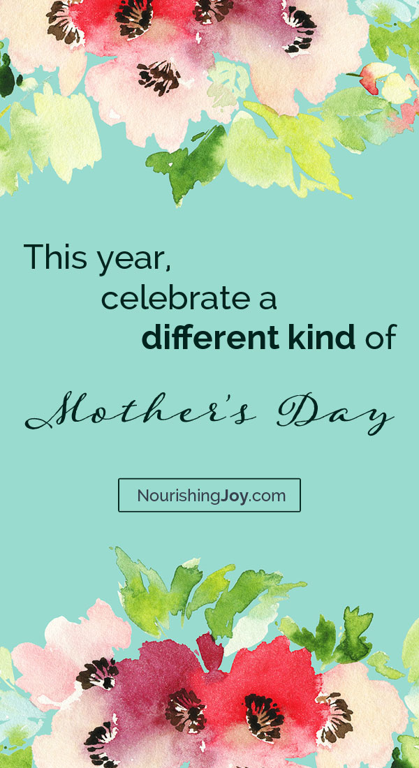 Mother's Day harkens to a deeper, wider, more lovely purpose....