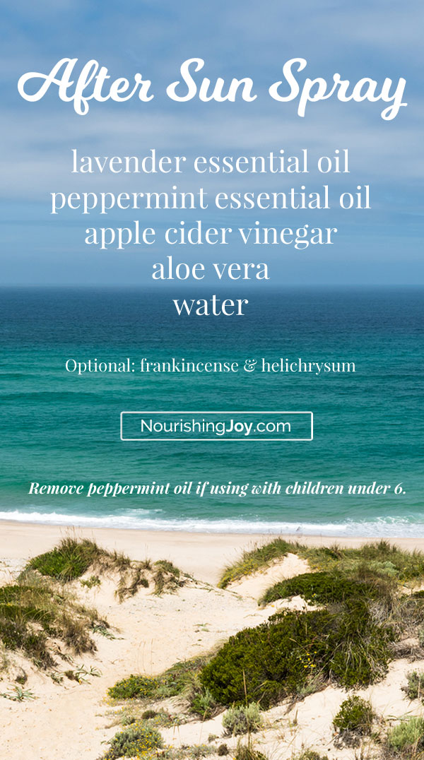 This soothing After Sun Spray is designed to cool, heal, and bring relief after a day in the sun. Give yourself some welcome relief when your skin feel tired after a long day!
