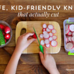 Kids love to help in the kitchen - but so often we're stuck with knife options that are either two blunt (and thus slip off the food) or too sharp (and can easily cause harm). Thus, here's a list of a few GREAT options for knives KIDS can use - and actually cut their food!