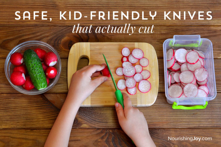 Safe, Kid-Friendly Knives That Actually Cut