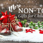 If your children are already overrun with toys - or you're just wanting the best creative, innovative options for playtime - this non-toy gift list is a fantastic place to start.