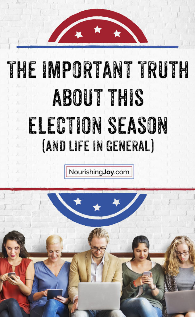 There's a surprising truth about this election season - and it's beautiful. (See? I told you it was surprising.)