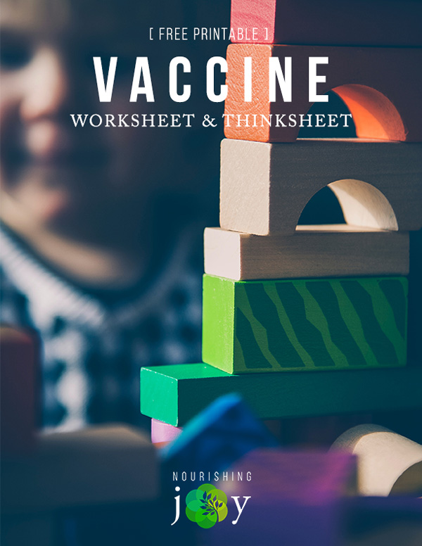 Vaccines are serious business, so here's a no-nonsense guide to making wise decisions for your children.