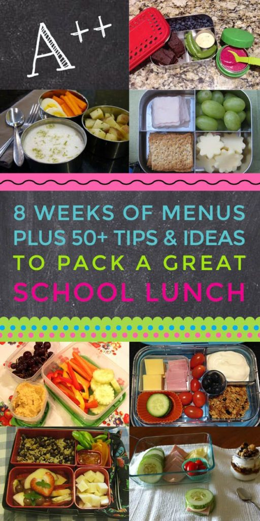 Making healthy school lunches doesn't have to be overwhelming! Our 8-week meal planning guide has done all of the heavy lifting for you. :)