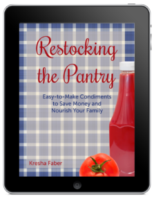 Restocking the Pantry cover ipad