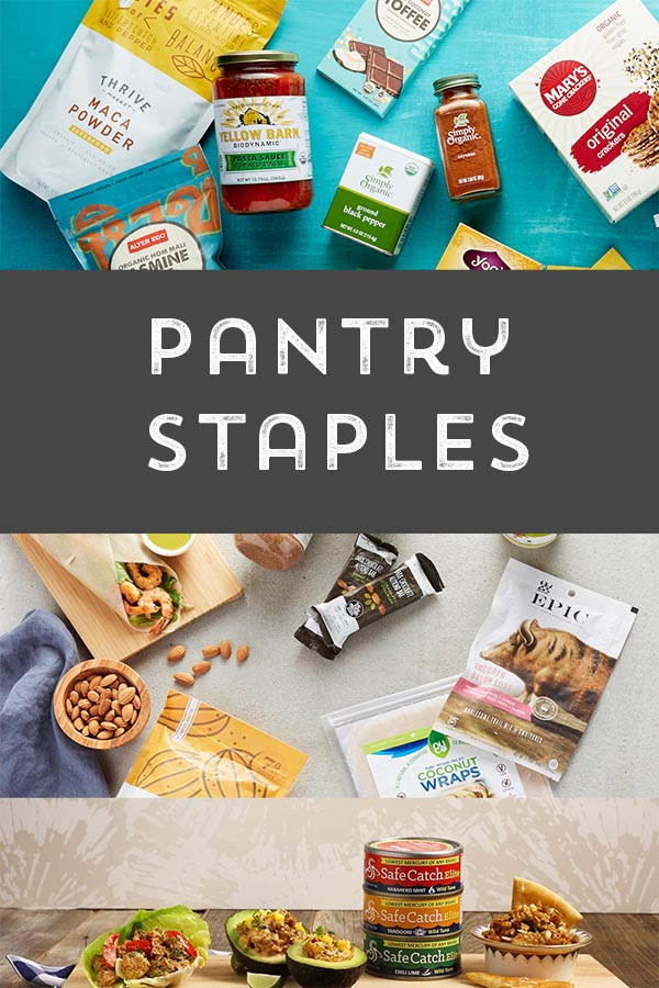 Sustainable meats & pantry staples