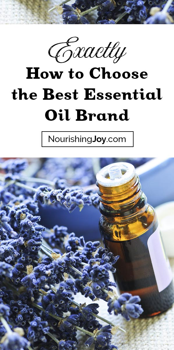 Essential oil brands definitely differ, so how do you choose