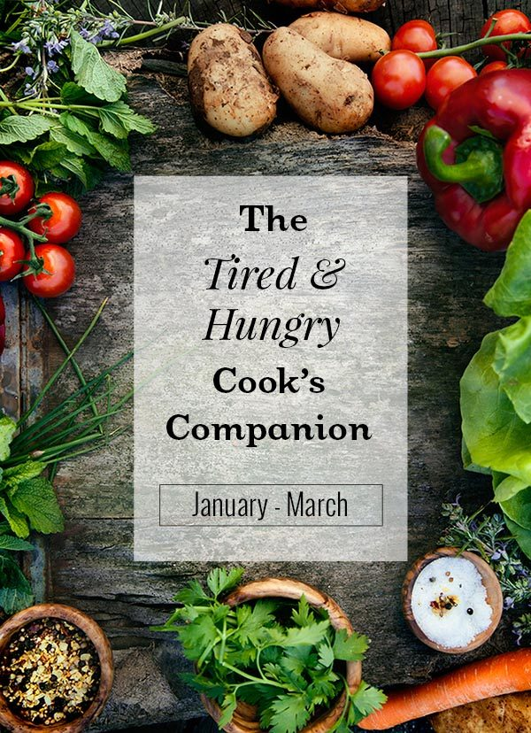 The Tired & Hungry Cook's Companion: Healthy New Year's Kickoff - 3-Month Mealplan Bundle
