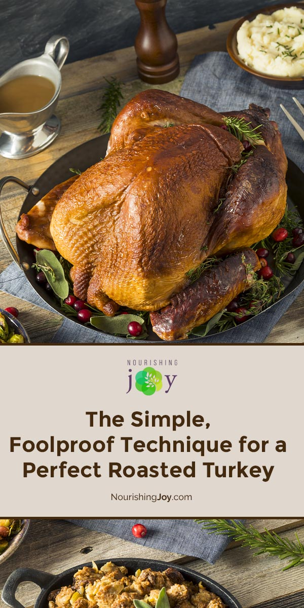 Cooking a turkey is far less stressful than it sounds - and with this simple technique, you can use ANY recipe and have the bird turn out beautifully: moist, succulent, and gorgeous.