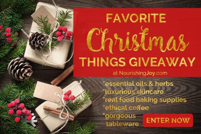 Our Favorite Christmas Things Giveaway