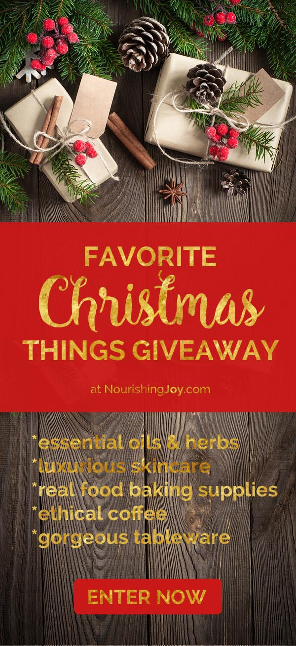 Favorite Christmas Things Giveaway