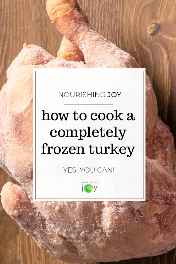 Need to cook a completely frozen turkey? Here's your simple guide to getting a beautiful, fully cooked bird to the table without breaking a sweat.