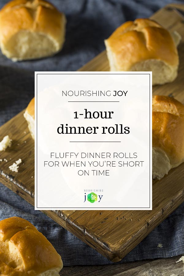 These 1-hour dinner rolls are both fluffy and big on flavor. Whether you need a quick dinner roll for Thanksgiving or you want a perfect accompaniment to pulled pork, this recipe is sure to please.