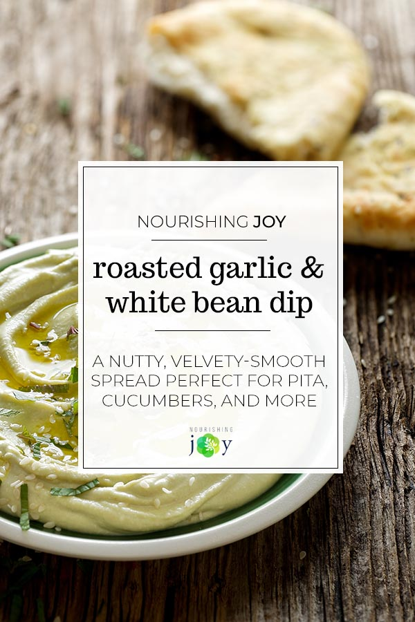 Cranberry beans are velvety in texture and nutty in flavour - a gorgeous combination in this scrumptious bean dip.