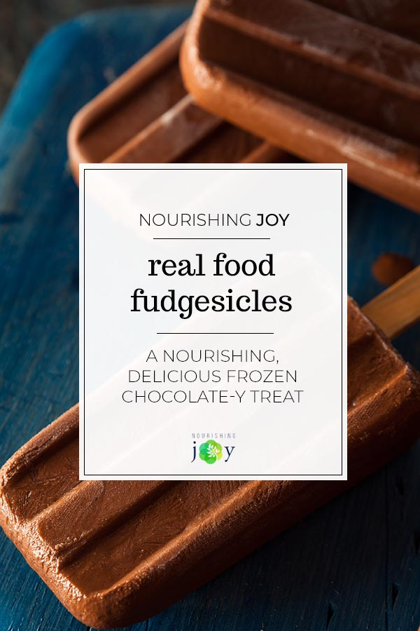 Real Food Fudgesicles
