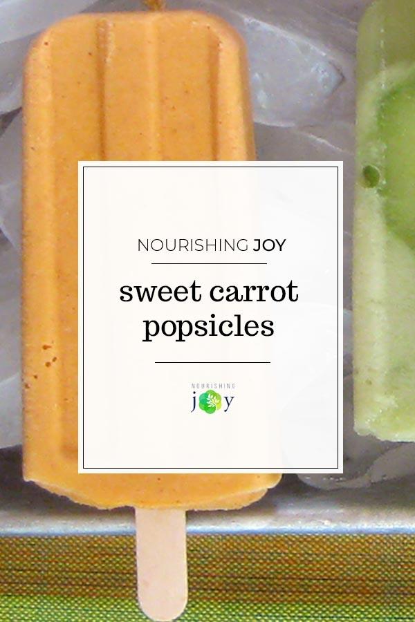 Sweet Carrot Pops