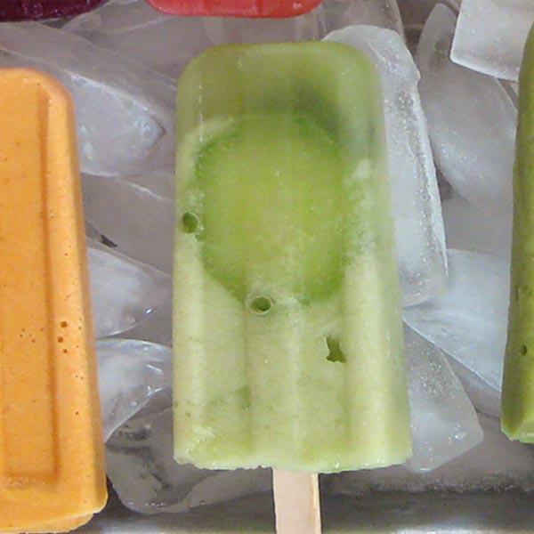 Cucumber-Mint Popsicles