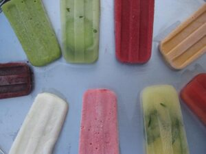 Insanely refreshing real food popsicles
