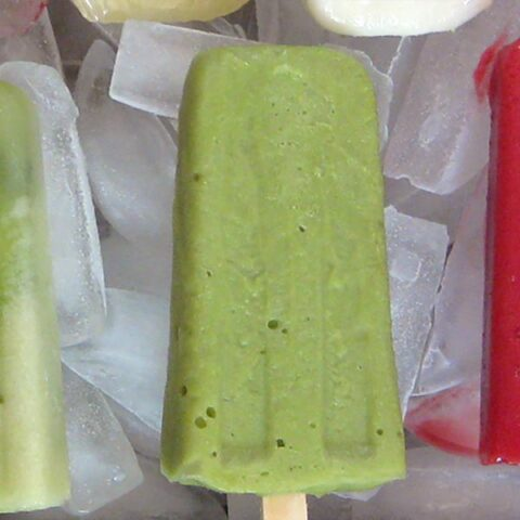 Honey Avocado Popsicles - a match made in heaven
